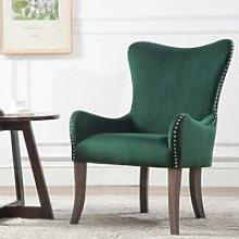 Ellis Green Fabric Armchair