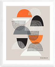 Eloise Renouf - 'Simple Shapes No.3' Wood