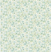 Elsie 10.05m x 52cm Floral Roll Wallpaper East
