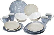 Elsner 16 Piece Dinnerware Set, Service for 4