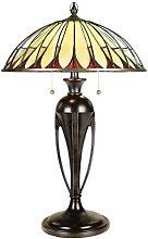 Elstead - 2 Light Table Tiffany Lamp Vintage