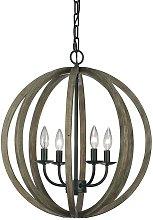 Elstead Allier - 4 Light Spherical Cage Ceiling