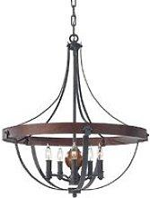 Elstead Alston - 5 Light Ceiling Chandelier