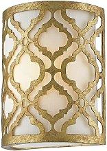 Elstead Arabella - 1 Light Indoor Wall Light Gold,