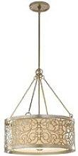Elstead Arabesque - 4 Light Cylindrical Ceiling