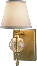 Elstead Argento - 1 Light Indoor Candle Wall Light