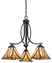 Elstead Asheville - 3 Light Pendant Chandelier