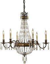 Elstead Bellini - 6 Light Chandelier British