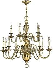 Elstead Cambridge - 15 Light Candle Chandelier,