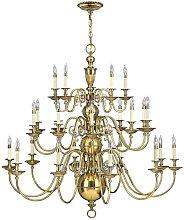 Elstead Cambridge - 25 Light Candle Chandelier,