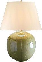 Elstead Canteloupe - 1 Light Table Lamp Green, E27