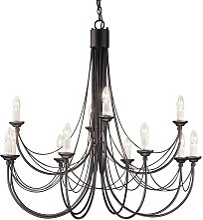 Elstead Carisbrooke - 12 Light Candle Chandelier