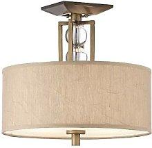 Elstead Celestial - 3 Light Semi Flush Ceiling