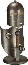 Elstead Crusader - Table Lamp Burnished Bronze