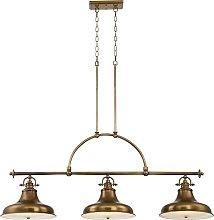 Elstead Emery - 3 Light Pendant Bar Chandelier