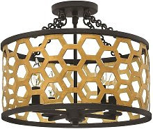 Elstead Felix - 4 Light Semi Flush Ceiling Light