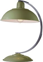Elstead Franklin - 1 Light Desk Lamp Reed Green,