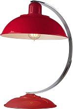Elstead Franklin - 1 Light Desk Lamp Traffic Red,