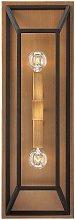 Elstead Fulton - 2 Light Indoor Wall Light Bronze,