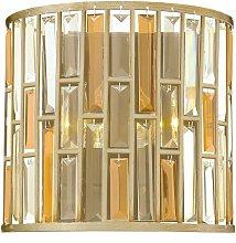 Elstead Gemma - 2 Light Indoor Wall Light Silver