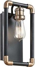 Elstead Imahn - 1 Light Indoor Wall Light Black,