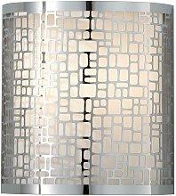 Elstead Joplin - 1 Light Indoor Wall Light Chrome,