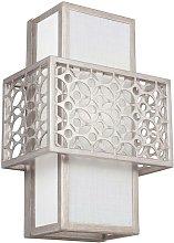 Elstead Kenney - 1 Light Indoor Wall Light Silver,
