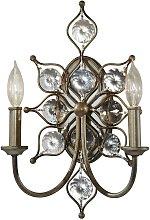 Elstead Leila - 2 Light Indoor Candle Wall Light