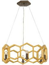 Elstead Moxie - 6 Light Ceiling Pendant Gold, E14