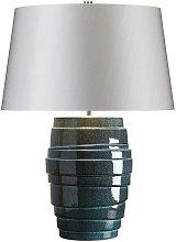 Elstead Neptune - 1 Light Table Lamp Blue Glaze,