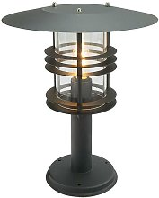 Elstead - Outdoor Pedestal Lantern, E27