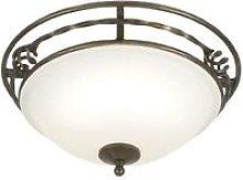 Elstead Pembroke - 2 Light Flush Ceiling Light
