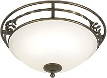 Elstead Pembroke - 2 Light Flush Ceiling Light