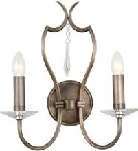 Elstead Pimlico - 2 Light Indoor Candle Wall Light