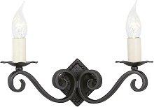 Elstead Rectory - 2 Light Indoor Candle Wall Light