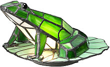 Elstead Tiffany Animal Lamps Frog Tiffany Lamp,