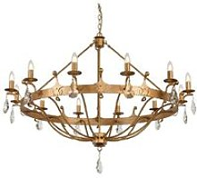 Elstead Windsor - 12 Light Pendant Chandelier -
