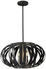 Elstead Woodstock - 4 Light Medium Spherical Cage