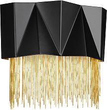Elstead Zuma 3 Light Wall Light, Satin Black,