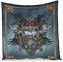 Elucassi Summer Quilts Viking Odin Lightweight