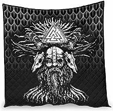 Elucassi Summer Quilts Viking Odin Microfiber Warm
