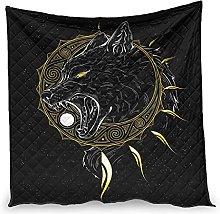 Elucassi Summer Quilts Viking Wolf Sun Luxury Warm