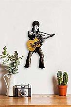 Elvis Presley Pendulum Clock