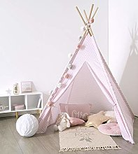 EMAKO Tent for children, INDIAN, TIPI, 120 x 120 x