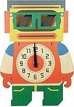 Emartbuy Silent Pendulum Wall Clock for Children