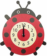 Emartbuy Silent Pendulum Wall Clock for Children