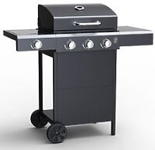 Embermann Grill Master 3 Burner Barbecue with Side
