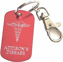 Emblems-Gifts Personalised Addison`s Disease SOS