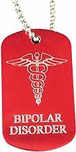 Emblems-Gifts Personalised Bipolar Disorder SOS