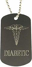 Emblems-Gifts Personalised Diabetic Medical Alert